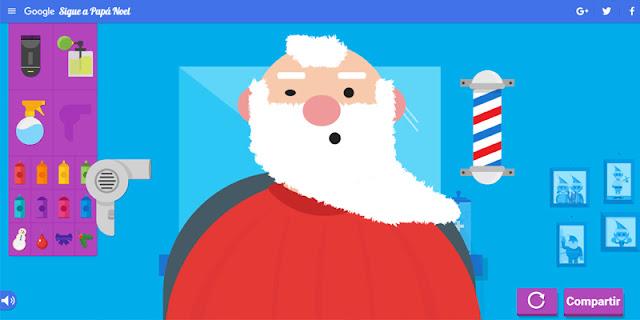Selfie Papa Noel