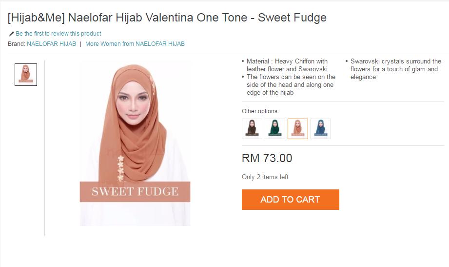 7a3dc019f149 tudung dari Naelofar Hijab ni memang brand kegemaran dan sememangyan Umi  akan bertambah ayu dengan tudung ni ;D