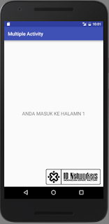 Multiple Activity Android Tutorial