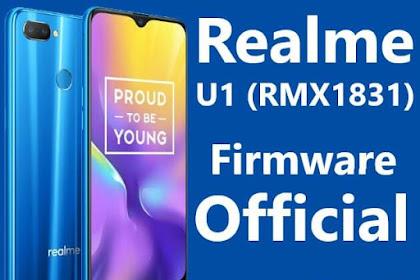 Official Firmware & Tool Realme U1 RMX1831