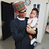 Comedy:  'President Buhari' visits Seyi Law's daughter at their home