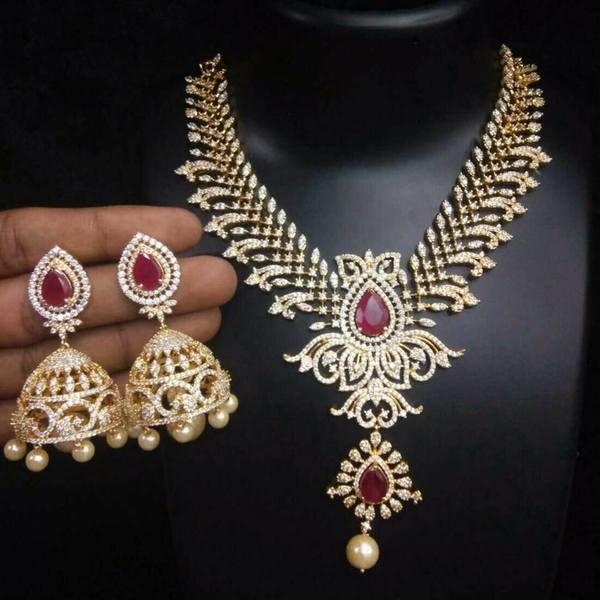 imitation bridal sets with jhumkas collection jewellery