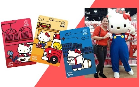 Hello Kitty Limited Edition beep™ cards Available at Daiso Japan