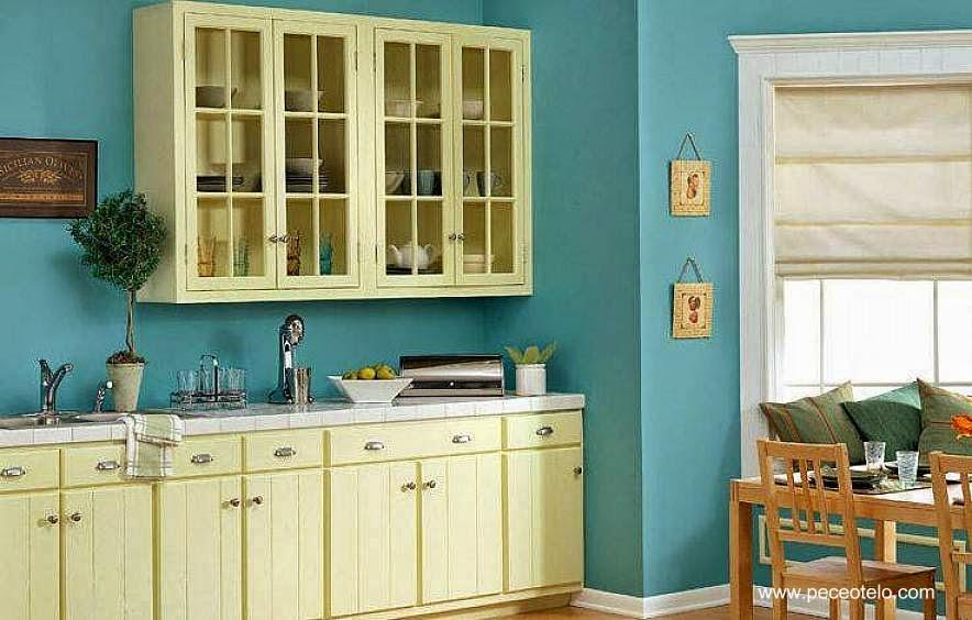 Arquitectura de casas consejos para elegir colores de - Pinturas para cocinas ...