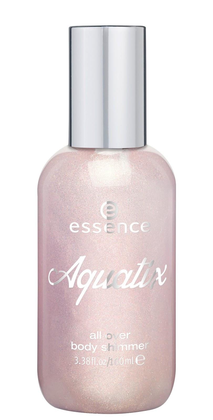 essence aquatix – all over body shimmer