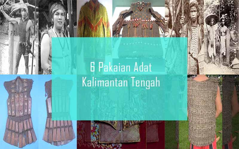 Inilah 6 Pakaian Adat Dari Provinsi Kalimantan Tengah