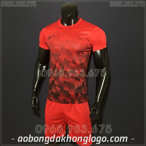 Áo bóng đá không logo Nike HHP David màu đỏ
