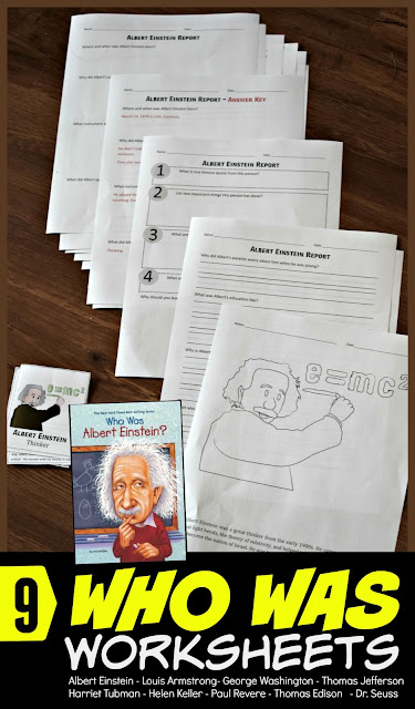 who-was-albert-einstein-worksheets-for-kids-report-answer-key