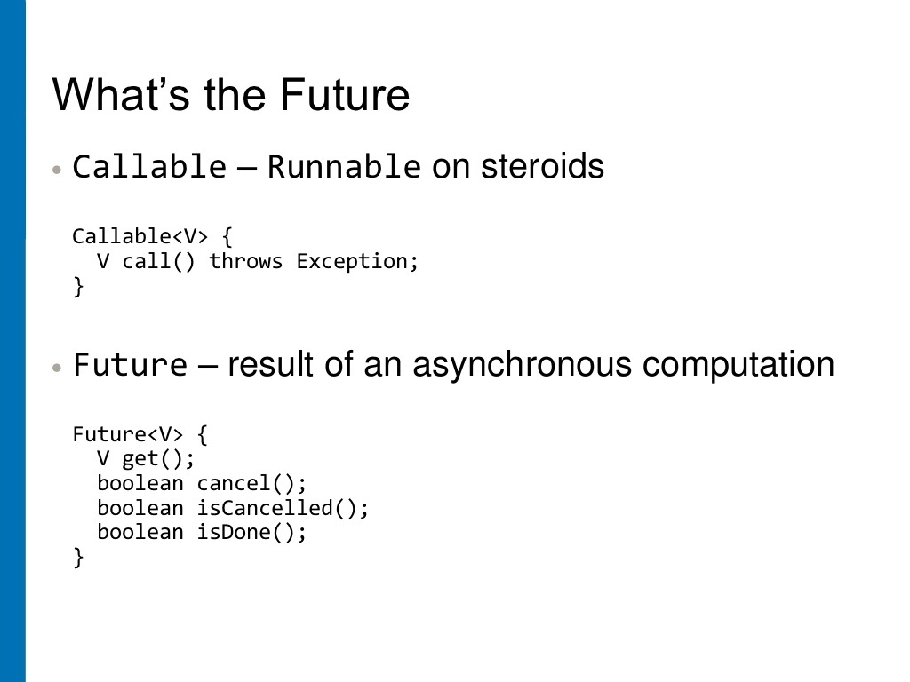 How to use Callable and Future in Java? Example