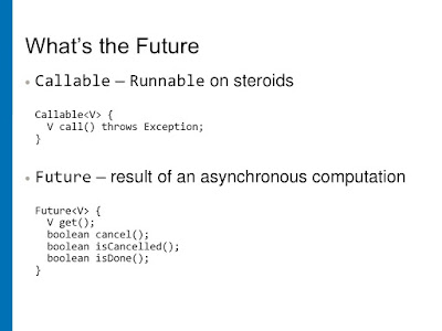 Runnable vs Callable vs Future in Java