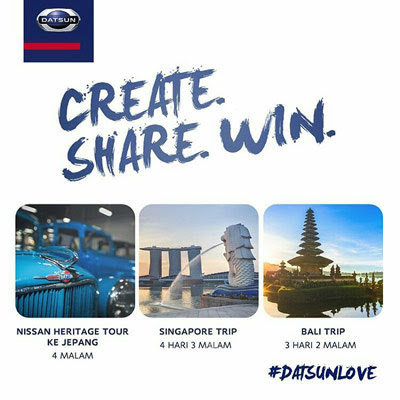 #DatsunLove ­ Create. Share. Win.