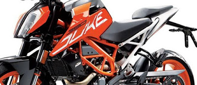 2017 KTM Duke 390 Body look