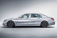 Mercedes-Maybach S 600 Guard (2016) Side