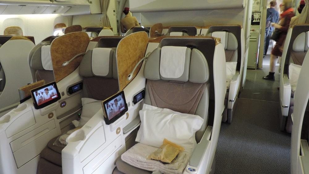 The Filipino Traveler: Review: Emirates B777 Business ...