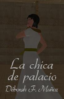 la chica de palacio, un relato corto ilustrado