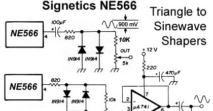 Forum Diagram: NE566 Function Generator Wiring diagram