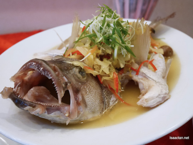 Whole Garoupa Fish