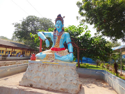 Lord Shiva Statue at Kaleshwara Muteswara Temple