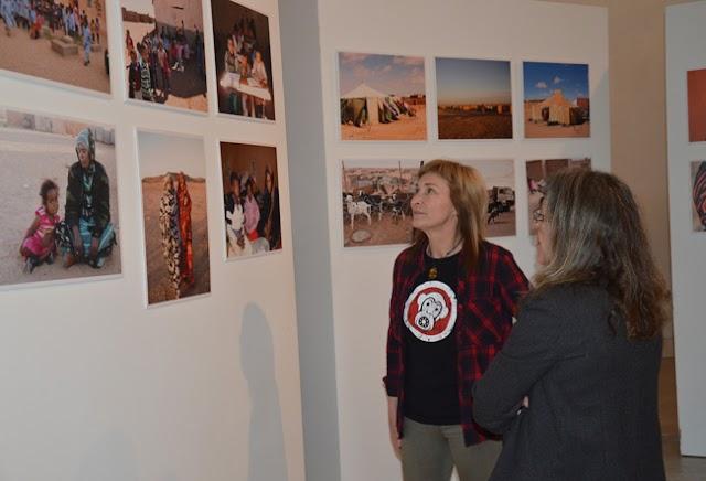 La realidad saharaui en 30 imágenes en la sala de exposiciones de San Francisco