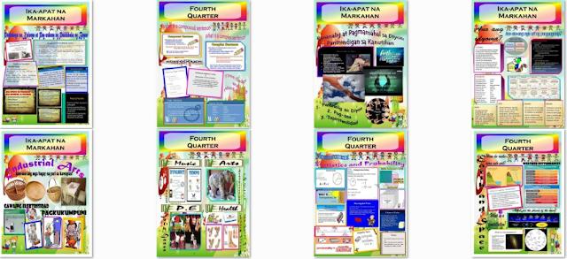 Grade 5 K-12 Bulletin Boards 4th Quarter All Subjects