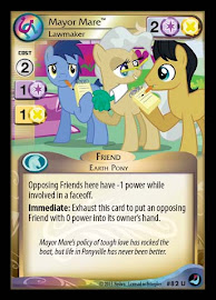 My Little Pony Mayor Mare, Lawmaker High Magic CCG Card