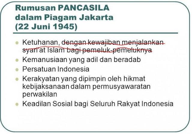 PANCASILA adalah Bukti Toleransi dari Umat Islam Indonesia : kabar Terhangat Hari Ini