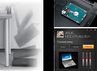 perlindungan anti shock pada hard drive