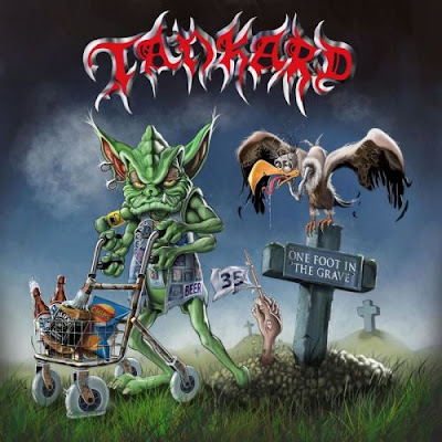 Recenze/review - TANKARD - One Foot in the Grave (2017)