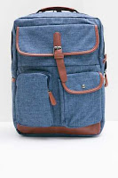 BerryBenka Tas Ransel Men Militio Backpack Navy ANDHIMIND