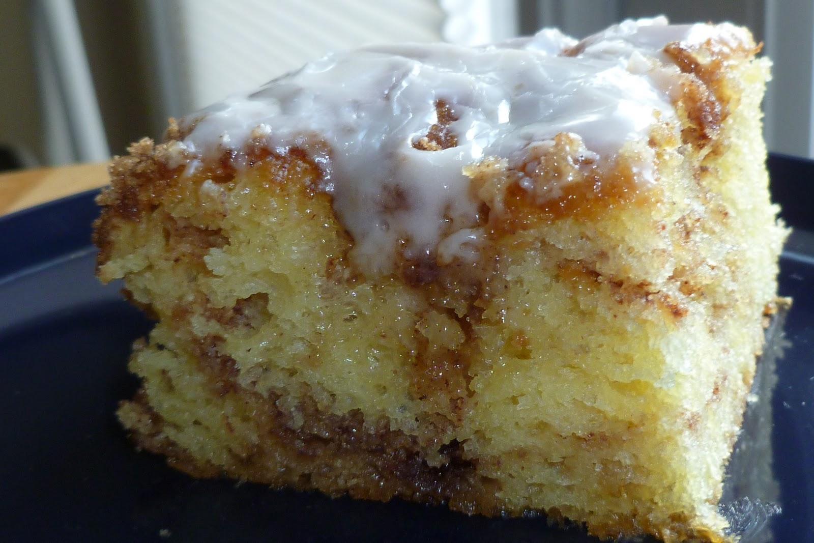 Cinnamon Bun Cake From Cake Mix