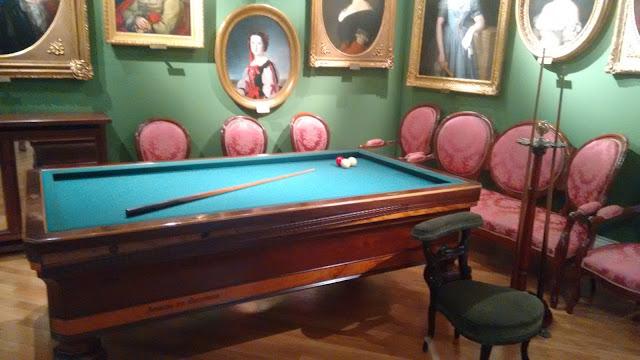 Museo del Romanticismo. Billar