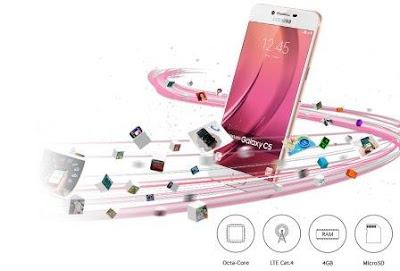 Spesifikasi Samsung Galaxy C5, Harga baru Samsung Galaxy C5, Harga bekas Samsung Galaxy C5