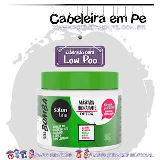 Máscara SOS Bomba Detox - Salon Line (Low Poo)