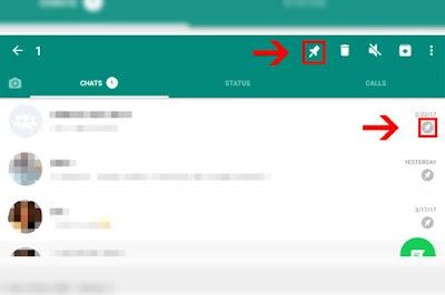 Nova função do WhatsApp permite fixar conversas no aplicativo