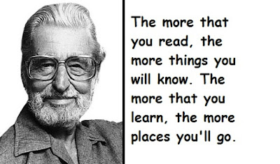 """Dr. Seuss Quotes About Reading"""