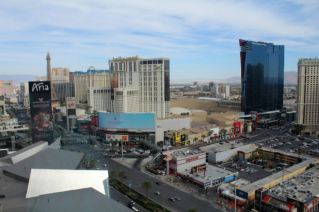 View from Mandarin Oriental Tea Room Las Vegas