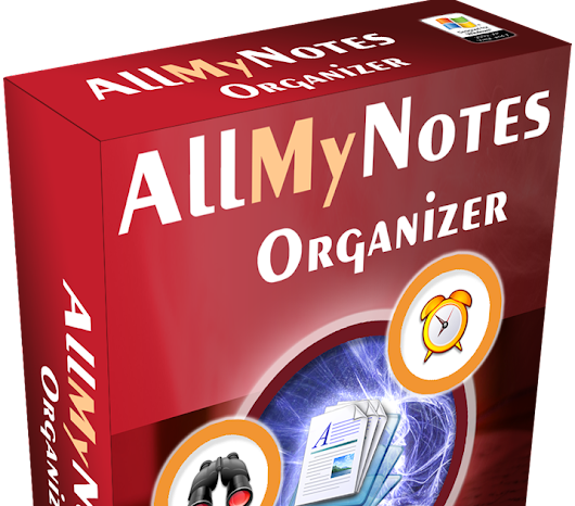 Giveaway Software - AllMyNotes Organizer Deluxe Edition license V.3.16 (lifetime)
