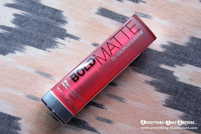797502902 Maybelline ColorSensational Bold Matte Lipstick MAT 4  Swatches ...