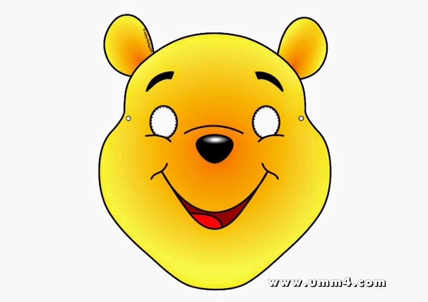 Mascaras De Winnie The Pooh Para Imprimir Gratis Ideas Y