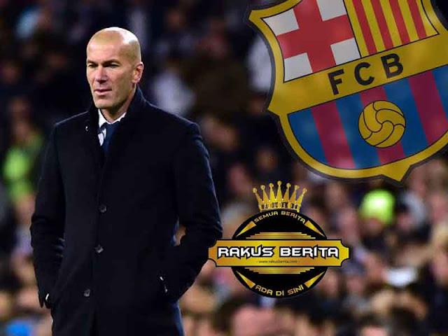 Zidane : Sabar, Barcelona Masih Bisa Dikejar