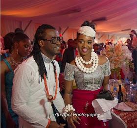 Psquare's Paul Okoye and wife Anita welcome twins; a boy & girl
