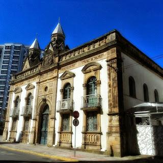 Prefeitura Municipal e Catedral de Lages