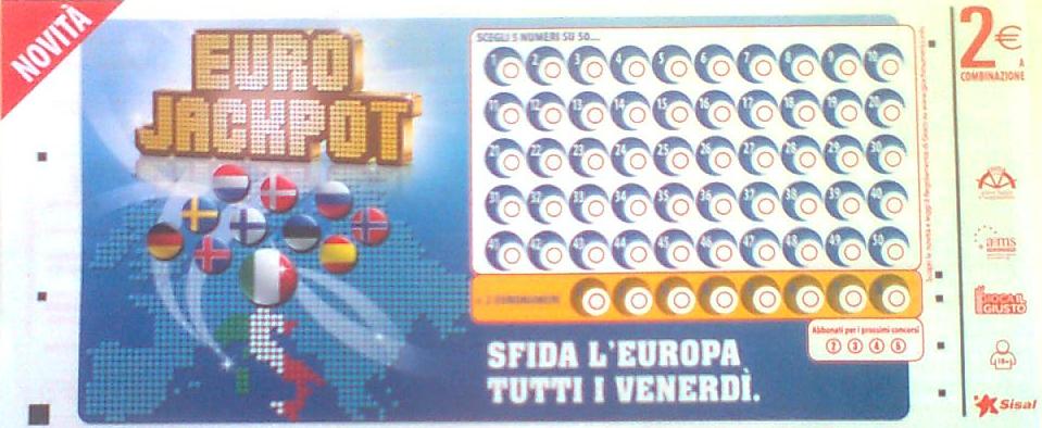 Eurojackpot Italia