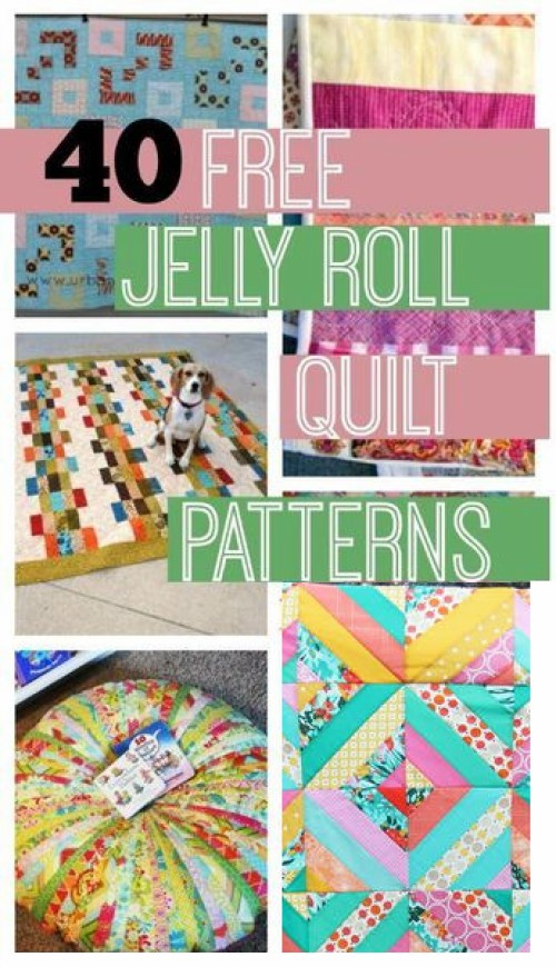 Jelly Roll Quilt Free Patterns