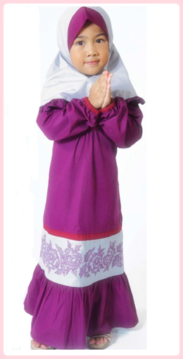 Baju Muslim Anak Perempuan Lucu 2015