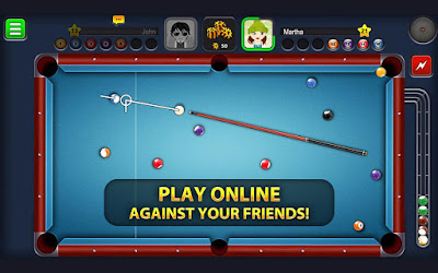 8 Ball Pool Game table