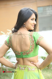 Actress Nikitha Bisht Stills in Lehenga Choli at Pochampally Ikat Art Mela Launch  0274.JPG