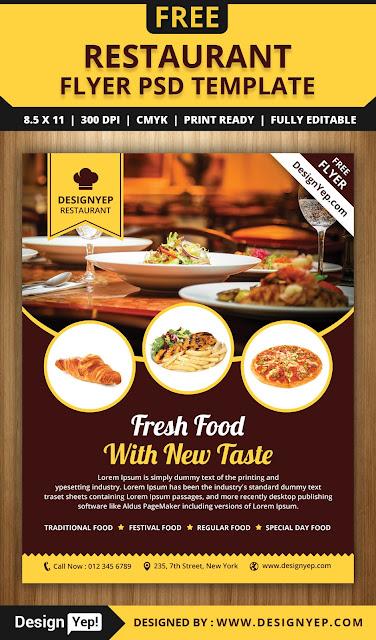 menu para restaurante gratis