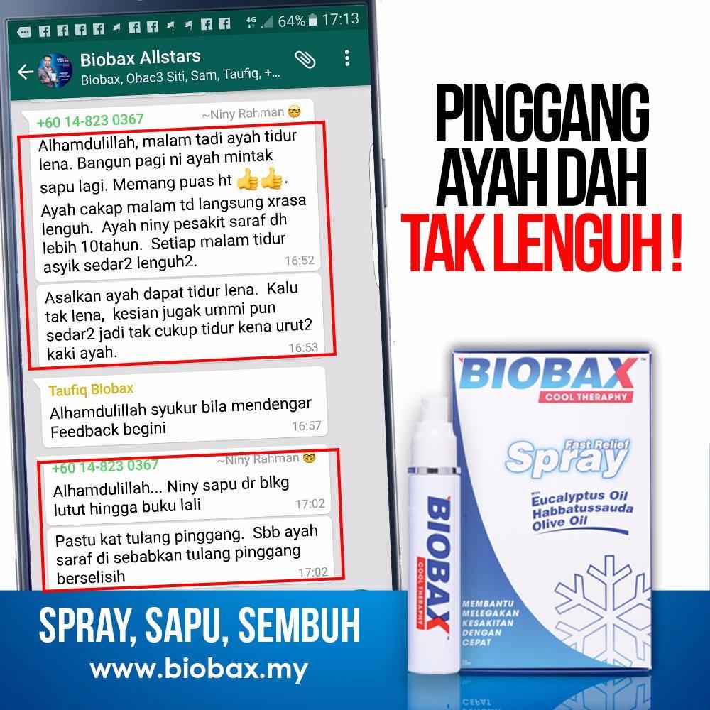 Mengapa Anda Harus Memiliki Spray Ajaib Biobax Ini?