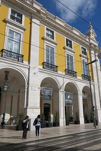 Pousada Lisboa Praça do Comércio, Lisbon, Portugal.